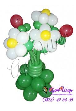 Букет «Земляника» из  воздушных шаров