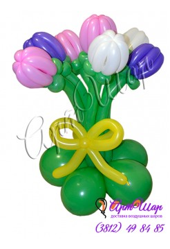 Букет цветов «Тюльпаны»