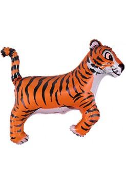 Фольгированная фигура «Тигр»  с гелием
